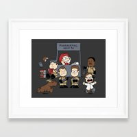 ghost busters Framed Art Prints featuring The Busters Are In! by adho1982