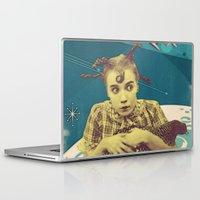 chicken Laptop & iPad Skins featuring Chicken by Julia Lillard Art