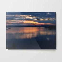 Campobello Island, Bay of Fundy Sunset Metal Print