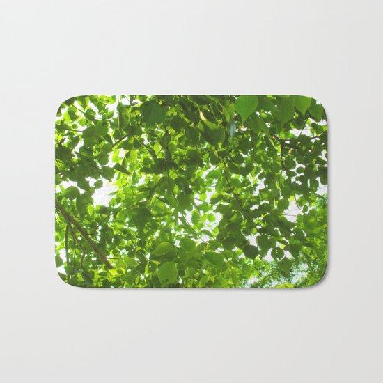Green #Nature Bath Mat