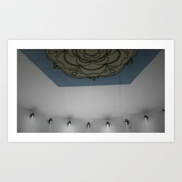 Subway to Know Cold Art Print