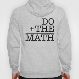 Do The Math Hoody