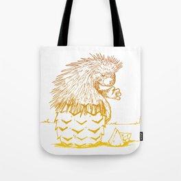porcupineapple Tote Bag