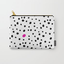 Stand out from the crowd - Dalmatian print Carry-All Pouch