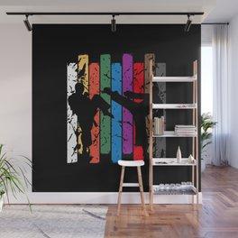 Karate SiIlhouete Wall Mural