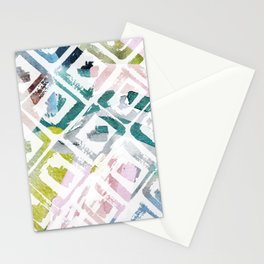 Awash | Colorful Geometric Print Stationery Cards