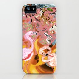 Paradise before the fire (SGHN) iPhone Case