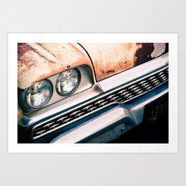 ranchero rust 1 Art Print