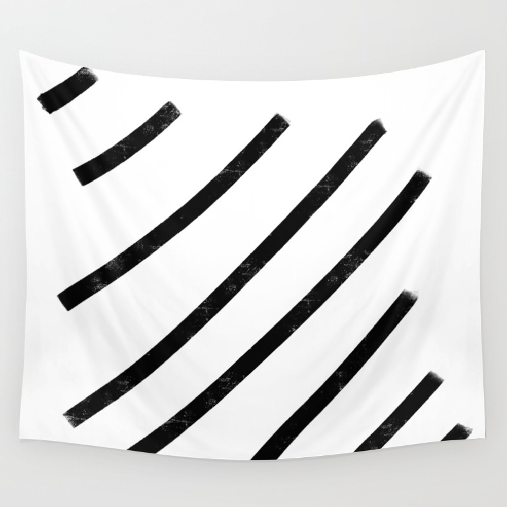 Lemme See That Line Werk Wall Tapestry by Soyalmondmilk TPS8286541