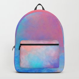 DREAMER Aesthetic Colorful Clouds Backpack