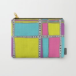 Bright plaids Carry-All Pouch