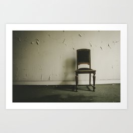 Without Companions Art Print
