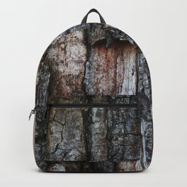 Tree Bark close up Backpack