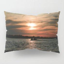 Tangerine Sky Pillow Sham