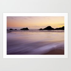 Seal Beach Art Print