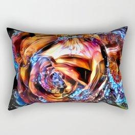 Angry rose Rectangular Pillow