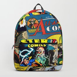 Comics Collage Backpack
