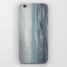 ciel gris iPhone & iPod Skin