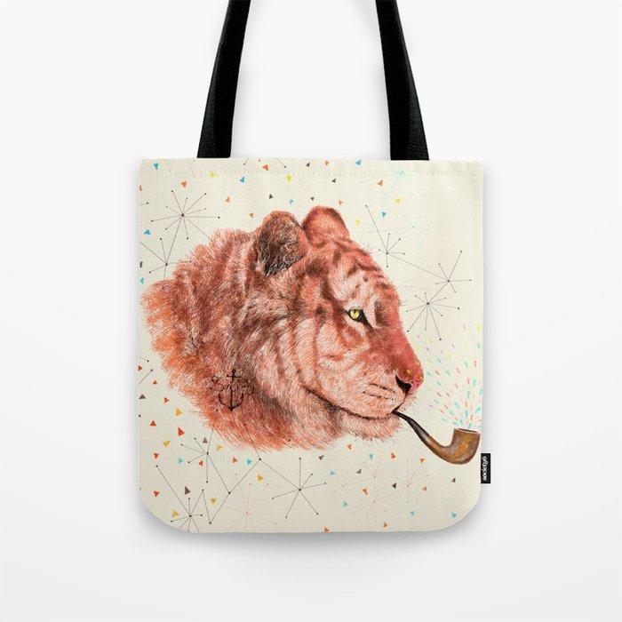 Red Tiger Tote Bag