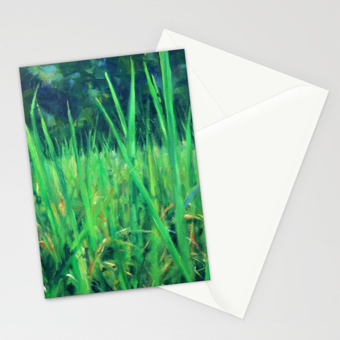 Grasslands in the Himalayan Foothills Stationery Cards