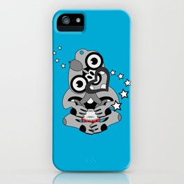 Hei Tiki New Zealand Drum iPhone Case