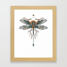 Dragon Fly Tattoo Framed Art Print