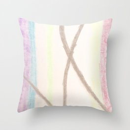 Colour Bow Throw Pillow
