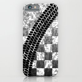 Flag Skid Mark iPhone Case