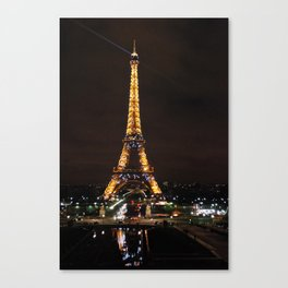 Twinkling Tower Canvas Print
