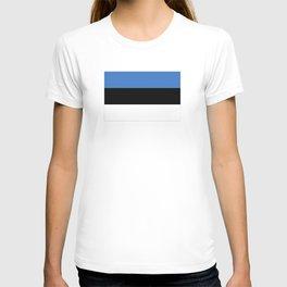 Flag of Estonia - Estonian,Eest,Baltic,Finnic,Sami, Skype,Arvo Part,Tallinn,Tartu, Narva,Snow, Cold T-shirt