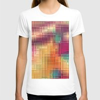 tetris T-shirts featuring Colored Tetris by jbjart