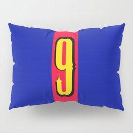 football team 1 number nine Pillow Sham