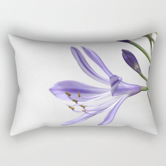 purple lily Rectangular Pillow