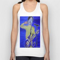 prince Tank Tops featuring Prince by Robert E. Richards