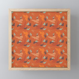 Bird Camouflage at Sunset Framed Mini Art Print