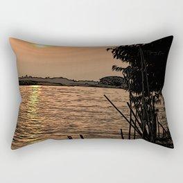 A Sunset in Bangladesh Rectangular Pillow