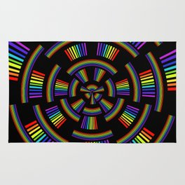 Wheel of Light Rug
