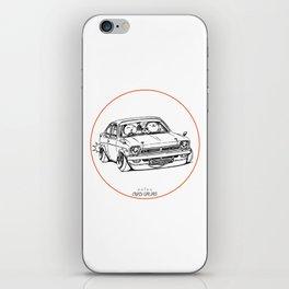 Crazy Car Art 0189 iPhone Skin