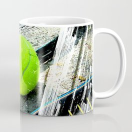 Tennis art 4 Coffee Mug