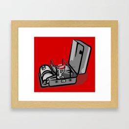 Stove Framed Art Print