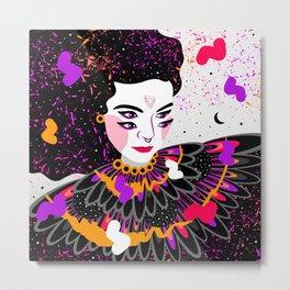 The dreams of Björk Metal Print