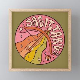 2020 Sagittarius Framed Mini Art Print