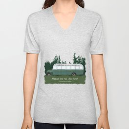 Into The Wild - Magic Bus Unisex V-Neck