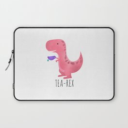 Tea-Rex | Pink Laptop Sleeve