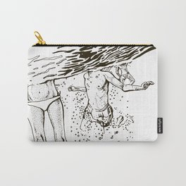 Swimming into the sea Carry-All Pouch