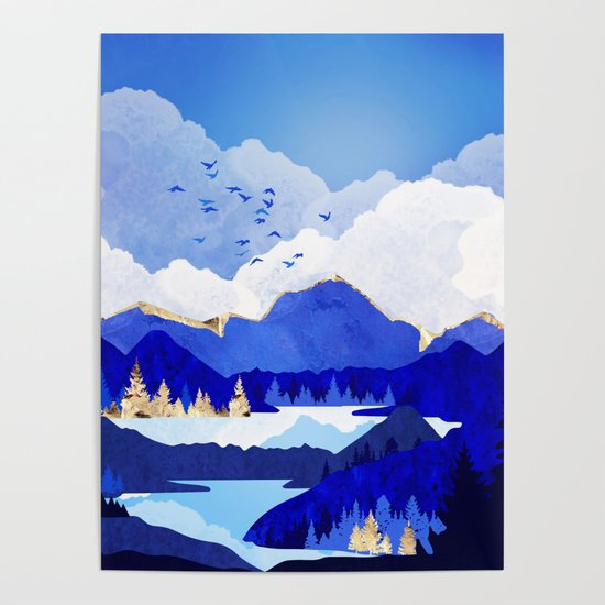 Blue Lake by spacefrogdesigns