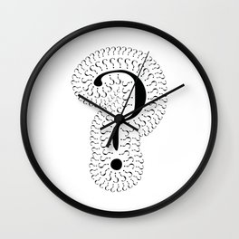 a question of questions Wall Clock