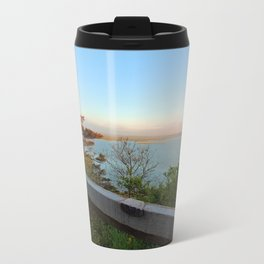 Coast Guard Beach overlook Travel Mug