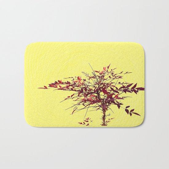 Spiral and Tree Bath Mat