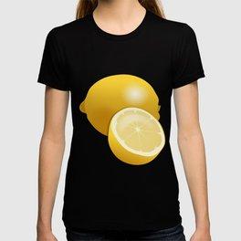 Lemon Pattern T-shirt